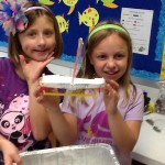 Design and build a boat, testing how much weight it can hold and still remain buoyant.